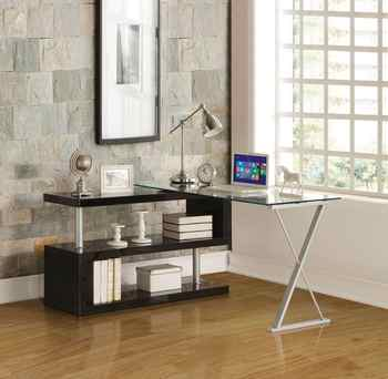 L Style Desk Office Desk Computer Table Book Shelf Modern PC Table Home Furniture Style Desk - DISCOUNT ITEM  40 OFF All Category