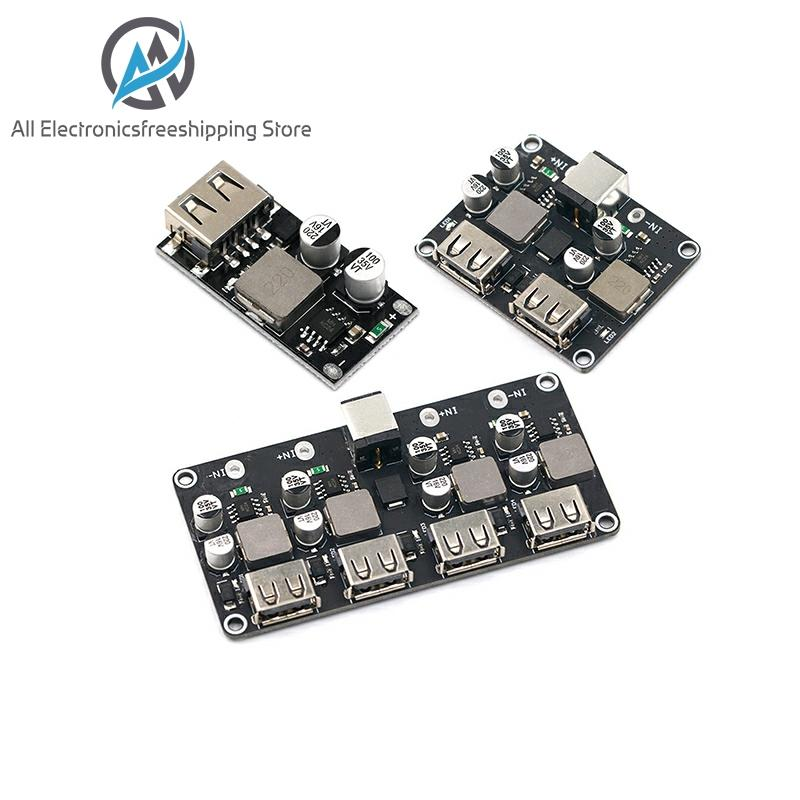 USB QC3.0 QC2.0 USB DC-DC Buck Converter Charging Step Down Module 6-32V 9V 12V 24V To Fast Quick Charger Circuit Board 5V