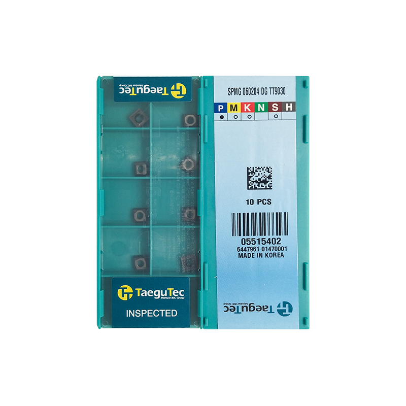 10pcs SPMG060204DG TT9030 carbide inserts turning tools CNC lathe turning inserts