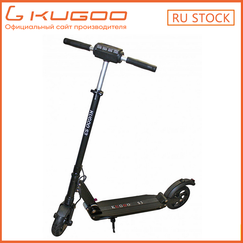 RU STOCK/ KUGOO S3 Folding Electric Scooter 350W Motor 8 inch tire  e Scooter Electric battery skateboard VS Xiaomi M365 Scooter