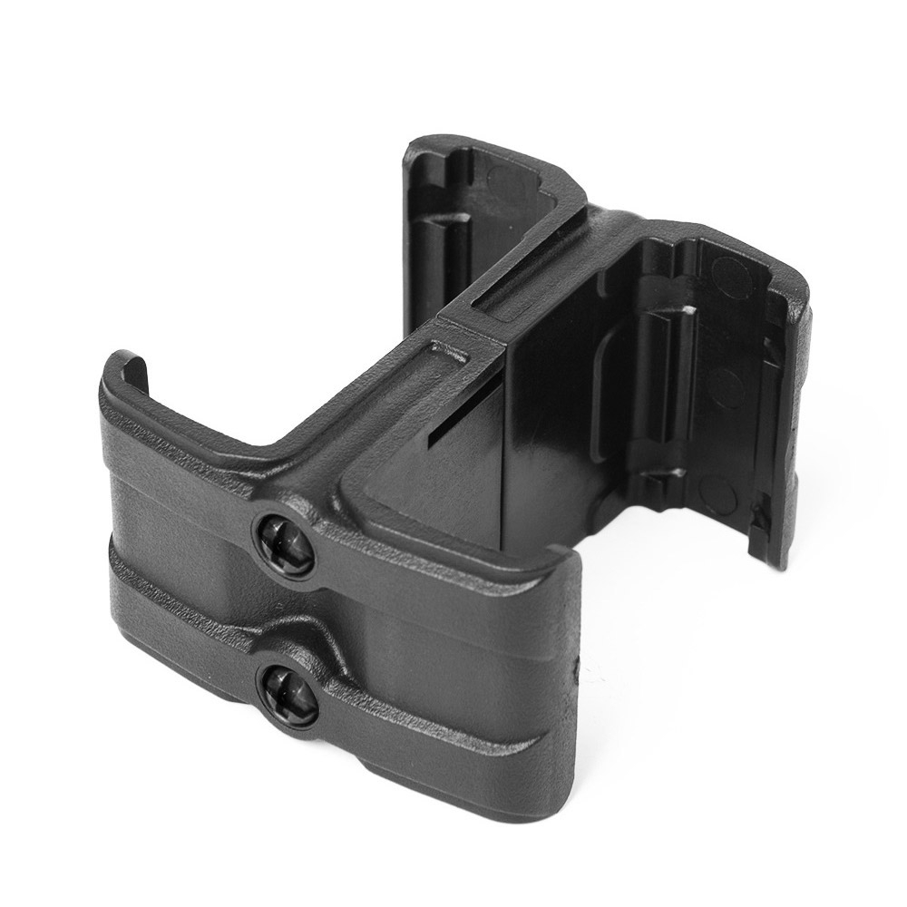 Tactical Double Magazine Clip For Pmag M4 Magazine Speed Loader Airsoft Nylon Clip AK Rifle M4 MAG59 Airsoft Accessory