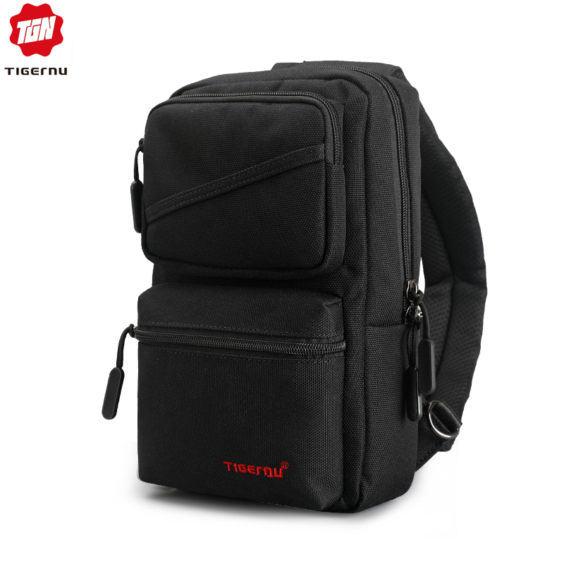 Tigernu Brand New Men's Messenger Bags Business Shoulder Bags Leisure Sling Bag Women Messenger Mini Chest Bags For 9.7