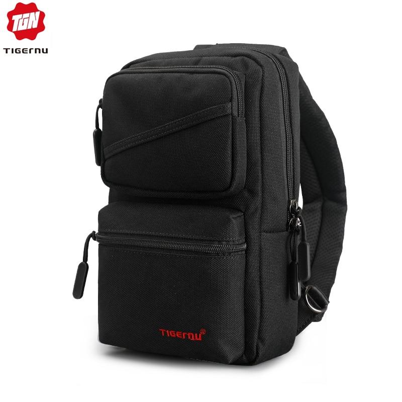 Tigernu Brand New Men's Messenger Bags Business Shoulder Bags Leisure Sling Bag Women Messenger Mini Chest Bags For 9.7