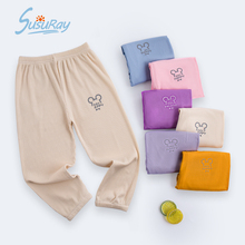 Summer Children Anti-mosquito Pants Kids Boys Unisex Clothes Sweatpants Boy Baby Girls Lantern Toddler Printing Cotton Clothing