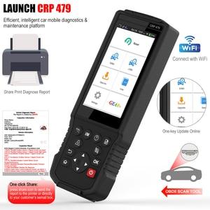 Image 3 - Launch X431 CRP479 OBD2 Scanner Abs Epb Dpf Olie Reset OBD2 Code Reader Launch X431 Pk Creader429C Eobd Automotive Scanner