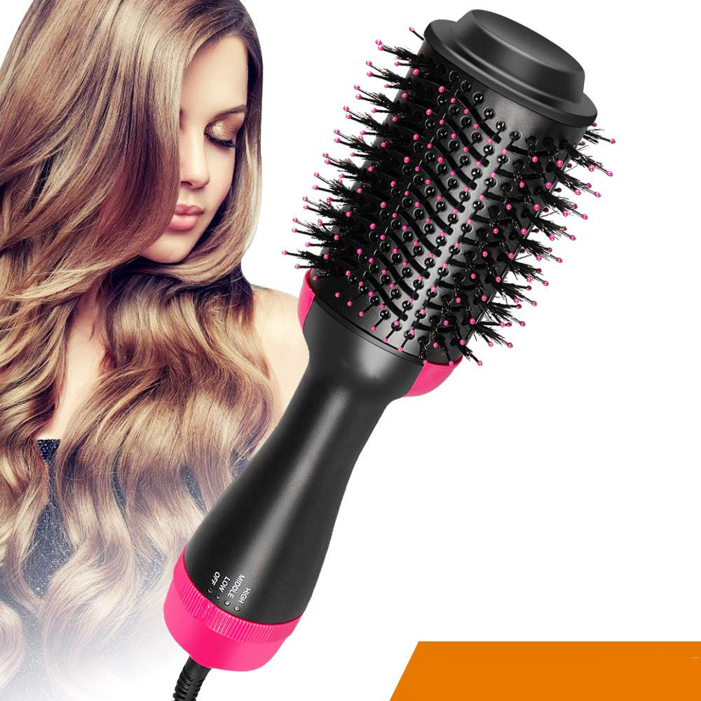 Salon ONE STEP Blow Dryer Volumizing Hair Dryer Comb Hot Air Brush Cold Wind Styler Hair Straightening Curling Tool Dropshipping