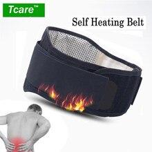 * Tcare Verstelbare Taille Toermalijn Zelf Verwarming Magnetische Therapie Taille Ondersteuning Riem Lumbale Brace Massage Band Gezondheidszorg