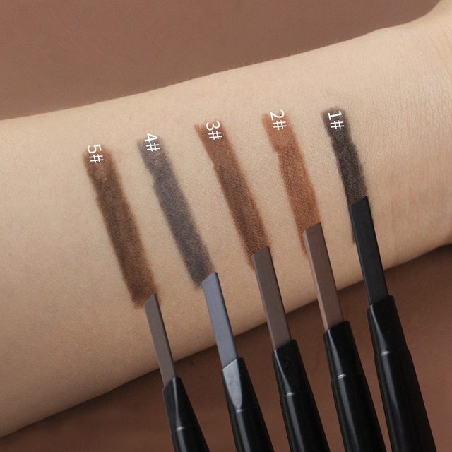 Eyes Makeup Eyebrow Pencil Waterproof Natural Long Lasting Ultra Fine Sketch 1.5mm Tint Brow Eye Brown Brows Professional Pen 1