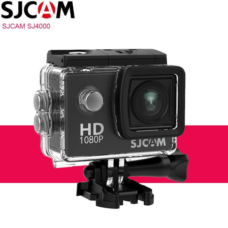 Original SJCAM SJ4000 Action Kamera Sport DV 2,0 zoll Tauchen 30M Wasserdichte HD 1080P Extreme Outdoor Helm SJ 4000 Cam