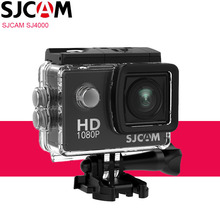 Original SJCAM SJ4000 Action Camera Sports DV 2.0 inch Diving 30M Waterproof HD 1080P Extreme Outdoor Helmet SJ 4000 Cam