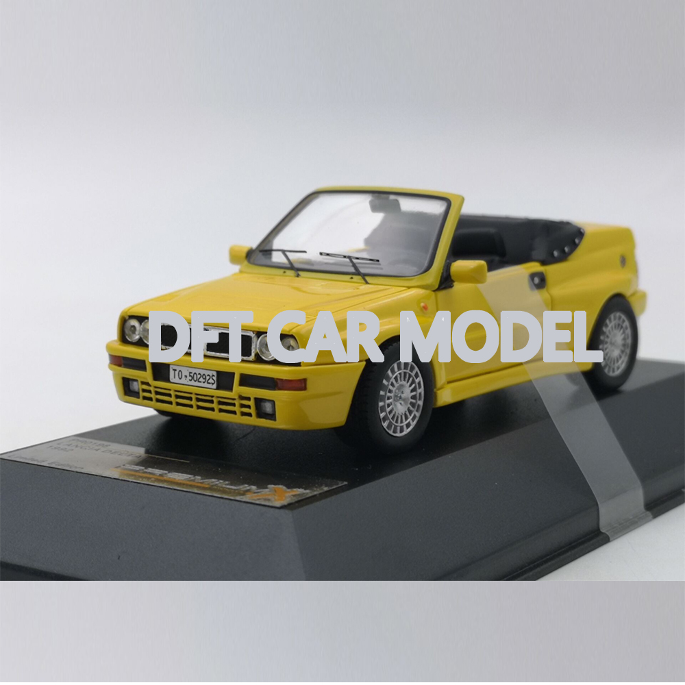 1:43 Resin LANCIA DELTA 1992 Car Model Of Children's Toy Cars Original Authorized Authentic Kids Toys