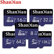 SHANDIAN – carte micro SD, 8 go/16 go/256 go/32 go/64 go/128 go, classe 10, flash