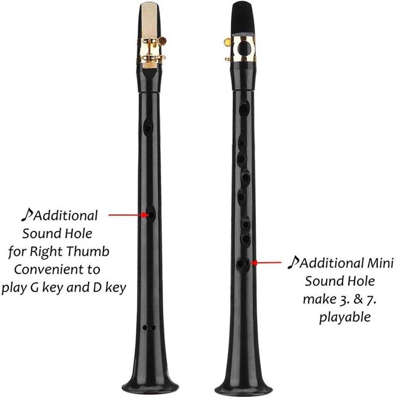 2020 Mini Sax Portable Pocket Sax Saxphone Beginner Small Sax Little Sax Mini Alto Saxophone Simple Key C Pocket Music Tools