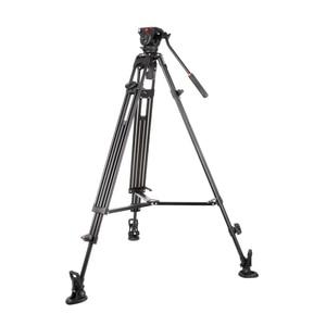 Image 2 - VILTROX VX 18M 1.8M Professional แบบพกพา Heavy Duty Stable อลูมิเนียมลื่น Video + ขาตั้งกล้องไฮดรอลิกหัววิดีโอกล้อง DV