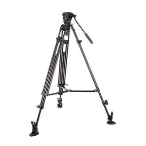 Image 2 - Viltrox VX 18M 1.8M professionnel Portable robuste Stable en aluminium antidérapant vidéo + trépied tête hydraulique pour caméra vidéo DV