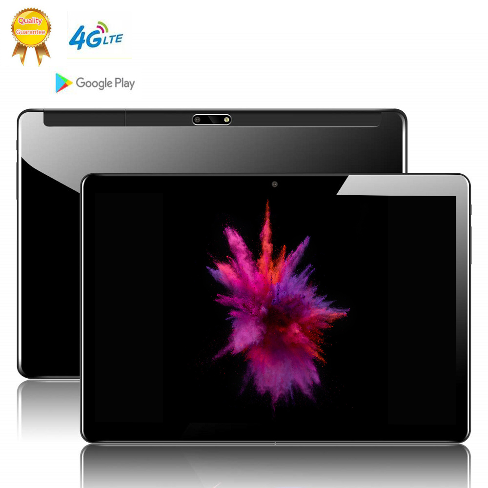 64Gb IPS Glass Screen 10.1 Inch 2.5d Screen 3G LTE Android 9.0 Tablet Pc 8 Octa Core 6GB RAM 4g Lte ROM 8MP Camera Tablets Phone