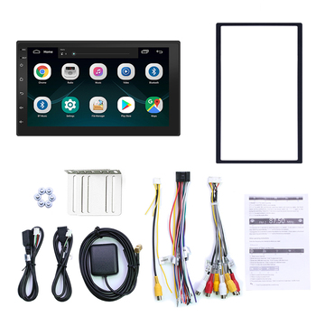 Android 8.1 Car 7 Inch 2 Din Radio Bluetooth HD 1024x600 Mp5 Player Universal Car Stereo GPS Navigation Integrated Machine