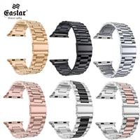 Cinturino in acciaio inossidabile per cinturino Apple Watch 42mm 38mm 1/2/3/4 cinturino in metallo cinturino per cinturino per serie iWatch 5 6 SE 44mm 40mm