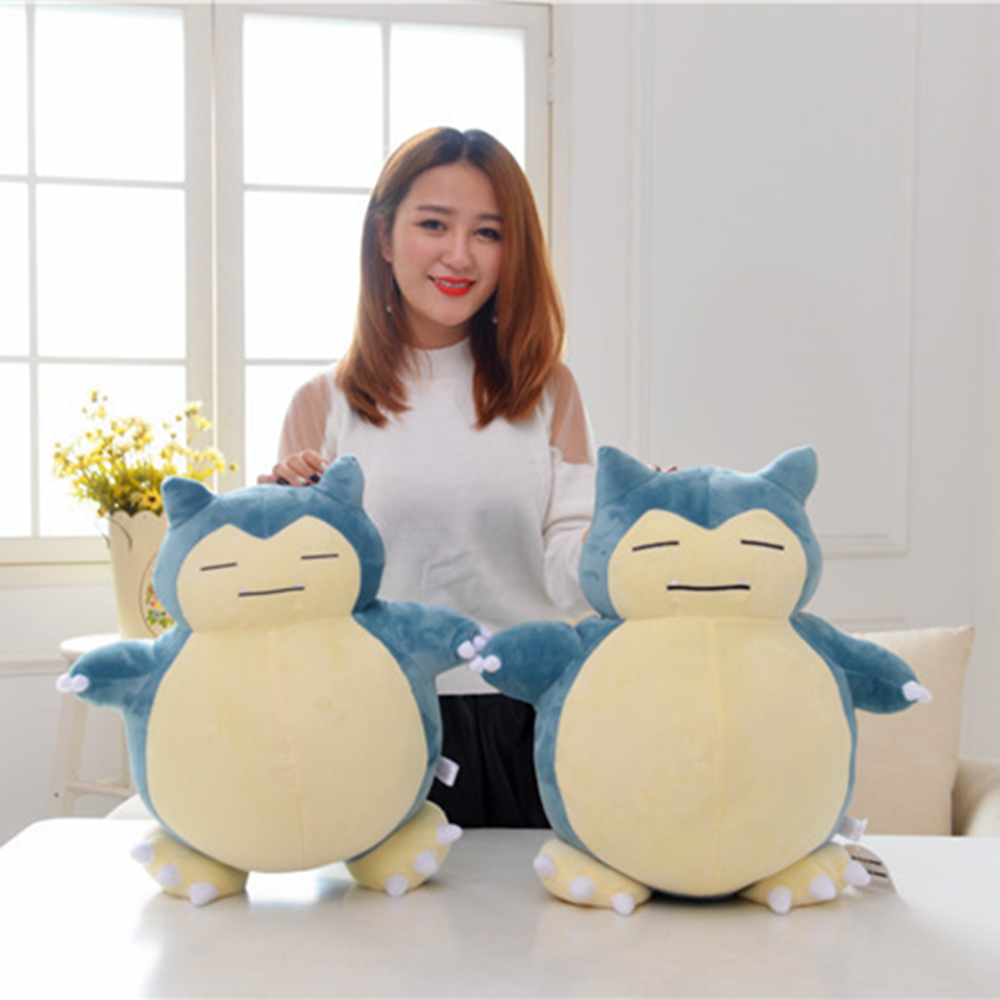 Large 50cm Pokemon Plush Doll Snorlax Character Toys Stuffed Teddy Soft Toy Gift