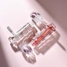 2 мл прозрачный блеск для губ палочка пустая упаковка DIY пластиковая Алмазная бутылка для блеска для губ косметический блеск для губ прозрачный контейнер для губ