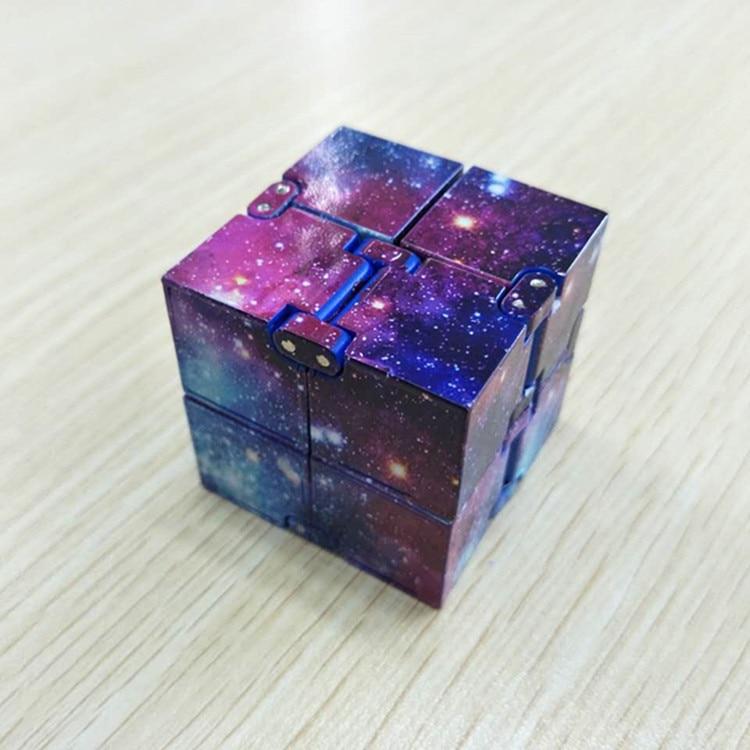 Тренд Творческий бесконечное Cube Бесконечность куб Magic Cube офис флип кубическая головоломка единый снятие стресса игрушки для детей с синдро...