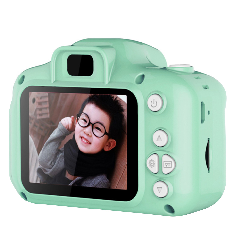 Kids Camera HD Gift Cute Multifunction Mini Cartoon Photography Timing Taking Pictures Digital Video Recording Birthday Portable