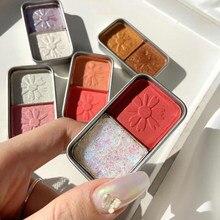 1Pcs Metallic Glitter Ombretto Tavolozza Di Lunga durata Impermeabile Molle di Luccichio di Trucco Degli Occhi Cosmetici Maquillajes TSLM2