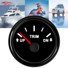 2 52mm Trim Gauge Meter 67-10ohm 9-32V UP-DN Meters Waterproof Marine Balance Sheet for Auto Truck Boat With Backlight
