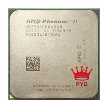 AMD Phenom II X4 955 de 3,2 Ghz L3/6M cpu Quad-Core Processor Socket AM3 938pin HDZ955FBK4DGM / HDX955FBK4DGI / HDZ955FBK4DGI