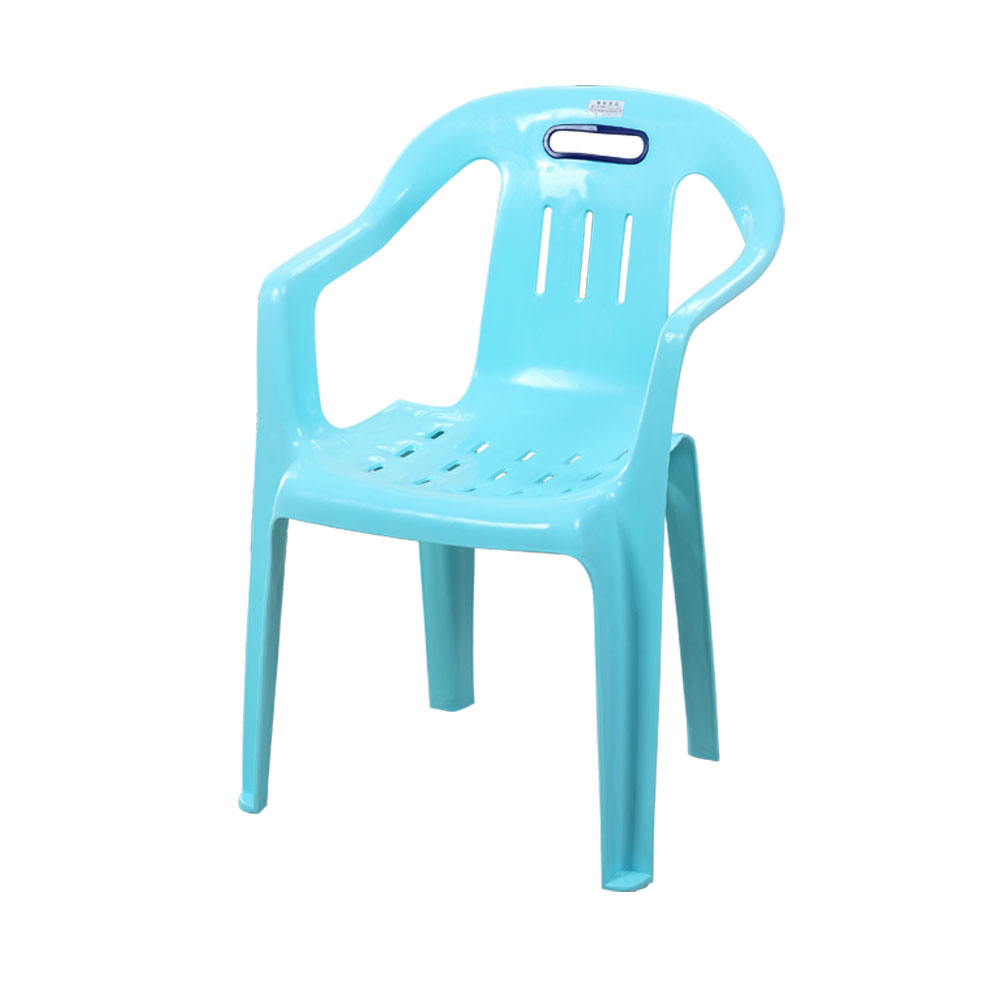 Thick Plastic Backrest Chair Food Stalls Dining Table Chair Stool Simple Armchair Beach Chair Home Adult Dining Chair