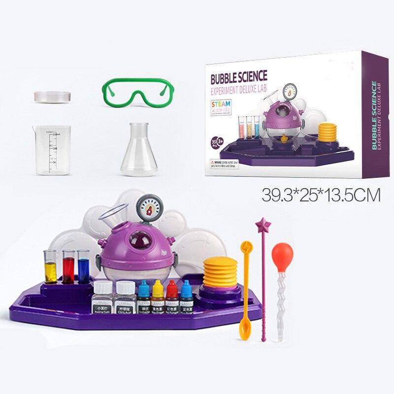 Enfants Science laboratoire matériel didactique jouets Kit jouets éducatifs pour enfants outils chimiques tige jouets drôle apprentissage jouet intérieur - 6