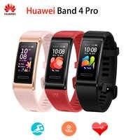 Original Huawei Band 4 pro SmartBand Herz Rate Gesundheit Monitor Alone GPS Proaktive Gesundheit Überwachung SpO2 Blut Sauerstoff
