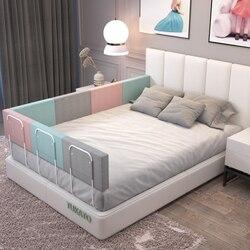 Бампер для детской кровати высотой 28 см, направляющая для детской кроватки, регулируемый противоударный забор для детской кровати, основно...