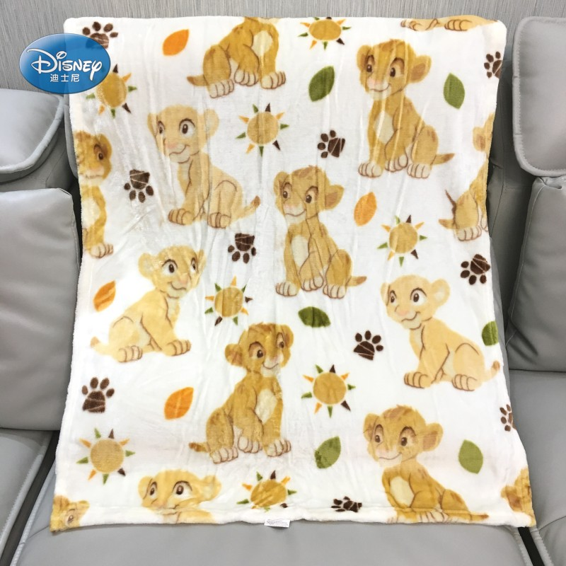 Disney Simba Lion King Nala Flannel Blanket Throw For Baby Girls Boys Couverture En Micro Peluche 30x40incehs