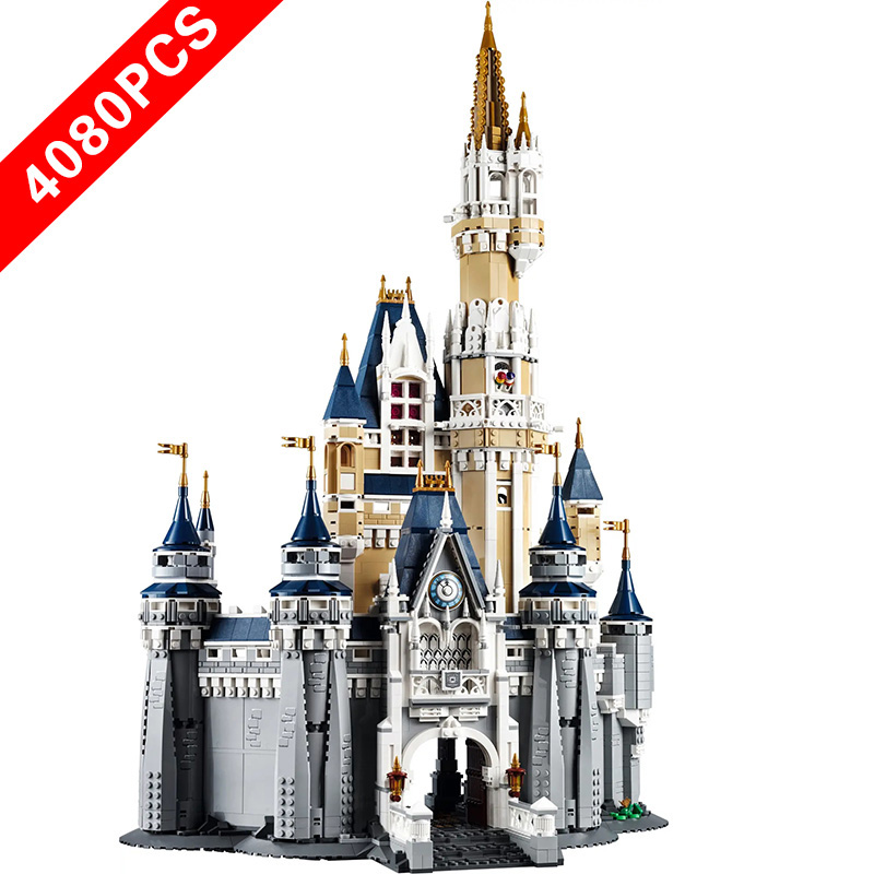 New lepinngl Disneyings Series Toys <font><b>Castle</b></font> Compatible lepinngl Disneyings <font><b>71040</b></font> Buildin Blocks Toys for kids Birthday Gift image