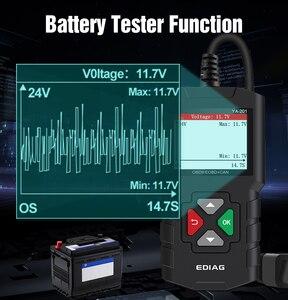 Image 3 - اديج YA201 رمز القارئ OBDII/EOBD YA 201 USB ترقية OBD2 الماسح الضوئي YA101 أدوات للسيارات PK KW680 CR319 AD310 لاختبار السيارات
