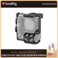 SmallRig a7riii a7iii a7m3 Cámara jaula protectora para Sony A7RIII A7III A7M3 con VG C3EM Empuñadura de batería Vertical Dslr jaula 2176