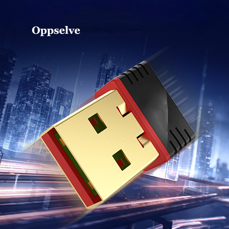 Oppselve Free Driver USB Wifi Adapter 150Mbps Wi fi Adapter 2.4G Antenna USB Ethernet PC Wi-Fi Adapter Wifi Dongle Wifi Receiver