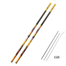 Stream Fishing Rods 3.6m-7.2m Carbon Fiber Telescopic Fishing Rod Hand Pole Feeder for Carp Fishing Casting Rod PPQZP цена в Москве и Питере