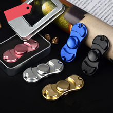 Explosieve Aluminium Hand Spinner Edc Fidget Hand Spinners Autisme Adhd Kid Vinger Speelgoed Spinners Focus Verlicht Stress Adhd E(China)