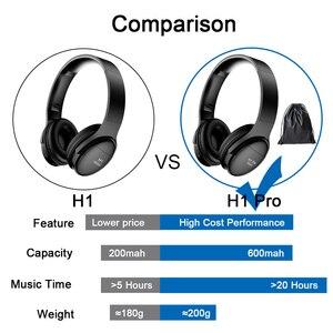 Image 4 - AWI H1 Bluetooth Kopfhörer Wireless Headset Stereo Über ohr Noise Cancelling kopfhörer Gaming Headset mit Mic Unterstützung TF Karte