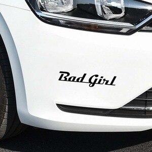 Играть крутой автомобиль стикер Мода забавная шутка плохая девушка окна автомобилей внешние аксессуары Виниловая Наклейка для Toyota Honda Lada Vw Bmw
