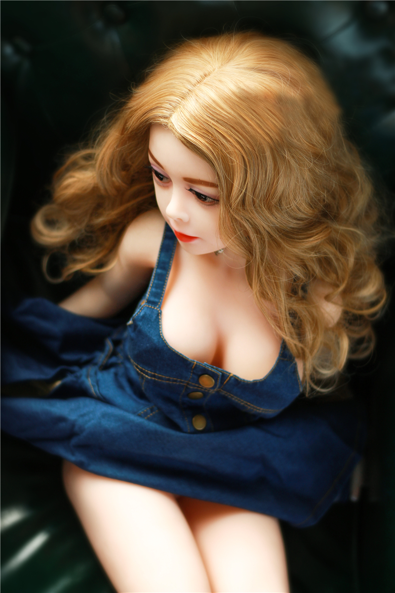 <font><b>125</b></font> <font><b>Cm</b></font> Real Silicone Sexo <font><b>Doll</b></font> Golden Big Curly Hair Female Big Breasts <font><b>Sex</b></font> <font><b>Doll</b></font> Adolescent Male E Artificial Toy <font><b>Sex</b></font> <font><b>Dolls</b></font> image