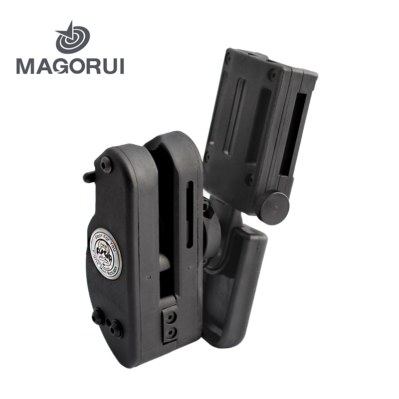 MAGORUI Universal Right Hand Pistol Holster For Hi-Capa 1911 Airsoft Gear IPSC USPSA IDPA Shooting Competition GR Speed Option