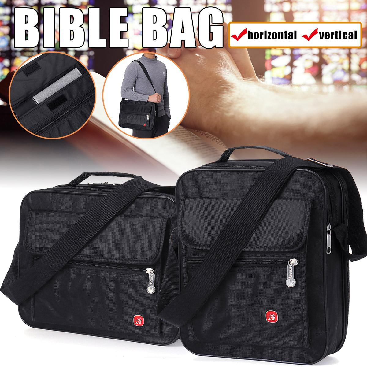 Bible Bag Perfect Quality Book Cover With Handle Zipper Closure Design Portable Carry Bag Bible Study Book Handbag