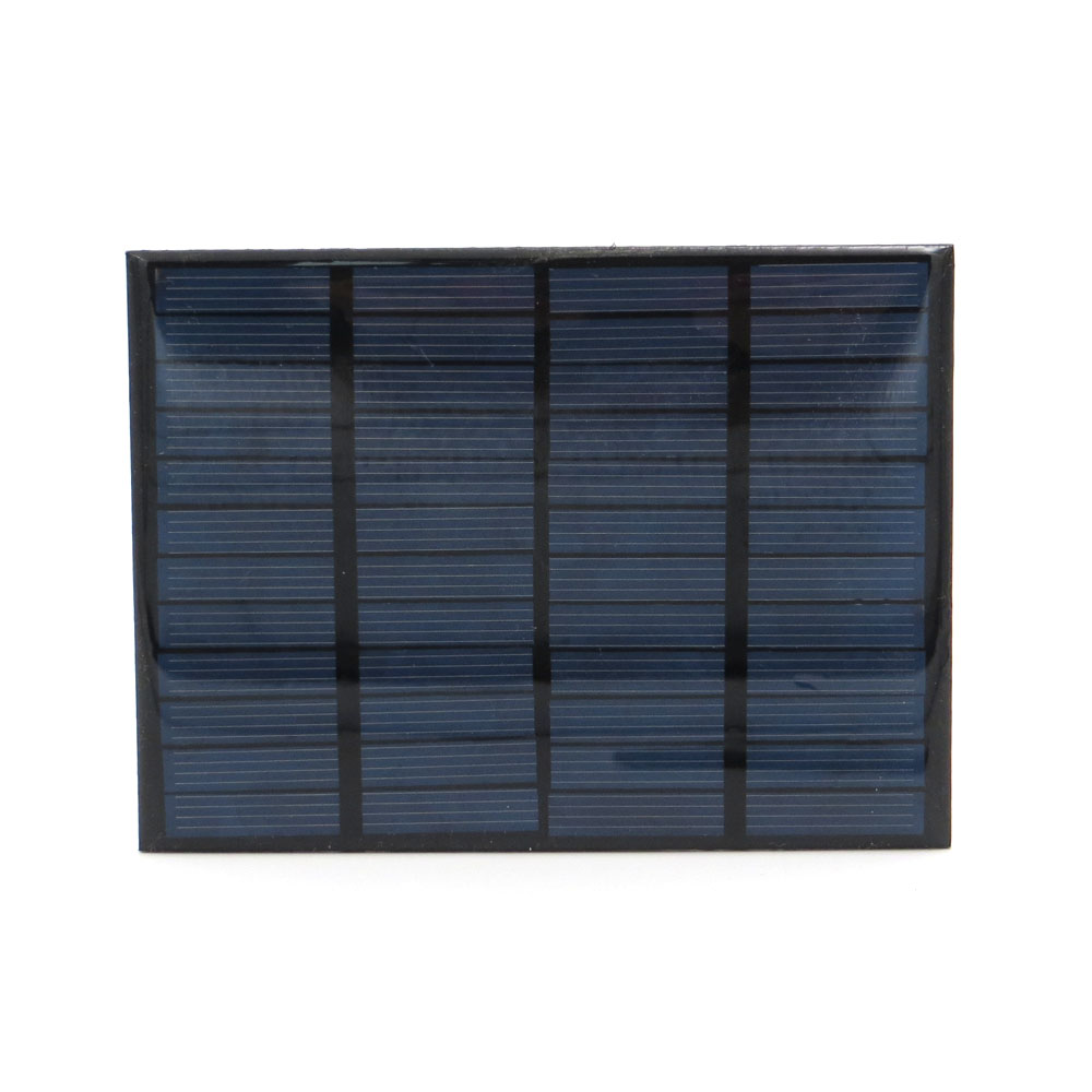 12V 125mA 1.5W Solar Panel Mini Solar Battery Cell Phone Charger Portable DIY Epoxy Polycrystalline Silicon Solar Cell