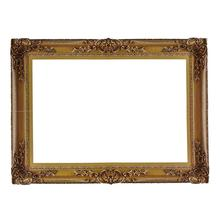 Classic European Style Golden Paper Photo Frame Wedding Party Decoration DIY Photo Props