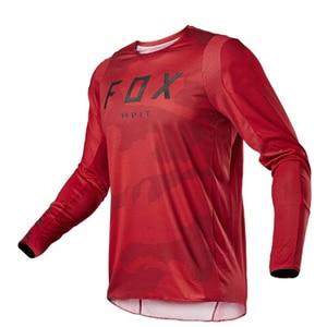Image 3 - 2020 Mens Downhill Jerseys hpit fox Mountain Bike MTB Shirts Offroad DH Motorcycle Jersey Motocross Sportwear Clothing FXR bike