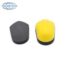 Volodymyr وسادة إسفنجية للسيارة ، لوح كتلة الطين السحري ، تفاصيل التنظيف ، الغسيل ، وسادة التلميع ، منظف السيارة