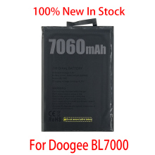 100% Original 7060mAh BL 7000 Battery For Doogee BL7000 SmartPhone In Stock High Quality +Tracking number